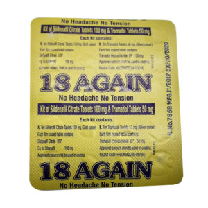 18-Again Sildenafil Citrate Tablets