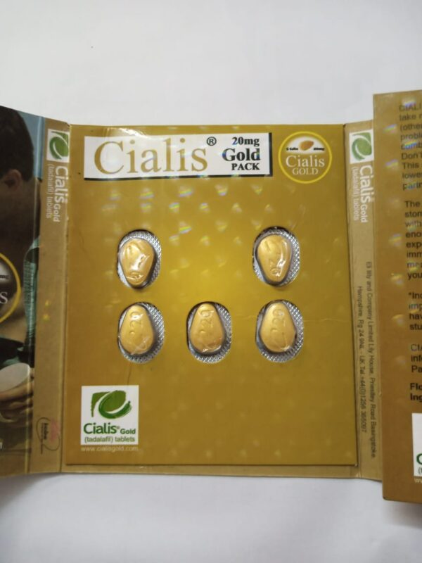 Cialis Gold 5-Tab Pack