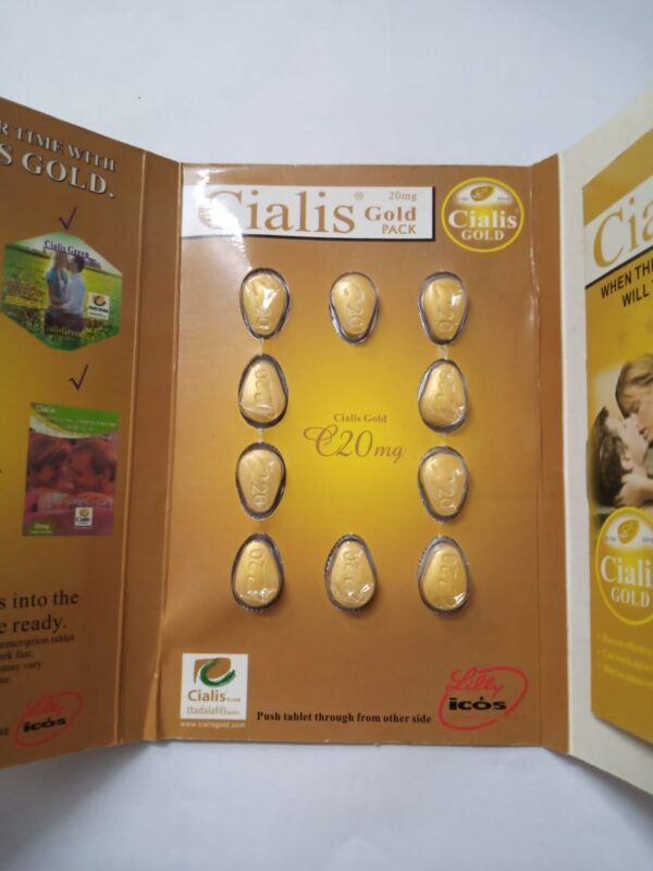 Cialis Gold 10-Tablets Card
