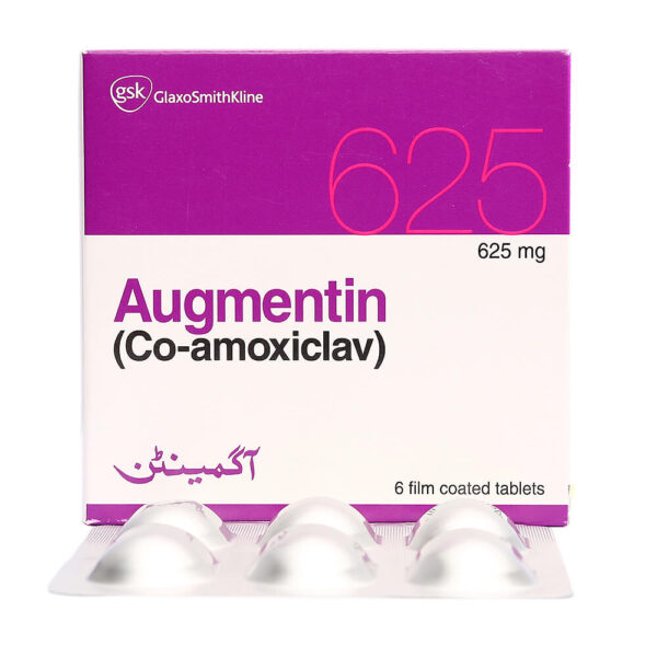 Augmentin Tablets 625mg 6's
