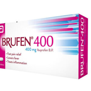 Brufen Tablets 400mg 25X10's